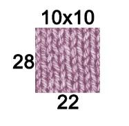Echantillon 10x10 BB Lidia Crochet Tricot