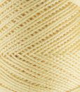 Coton perlé jaune Lidia Crochet Tricot
