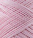 Coton perlé rose Lidia Crochet Tricot