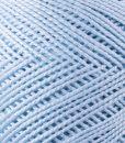 Coton perlé bleu Lidia Crochet Tricot
