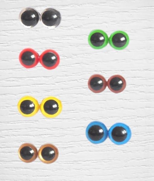 Amigurumi safety eyes: Yarn, cotton and accessories Lidia Crochet ... | 600x510