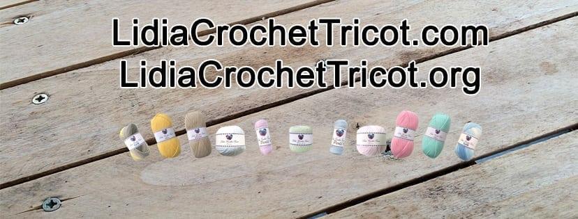 Ilustration Page Facebook Lidiacrochettricot Lidia Crochet