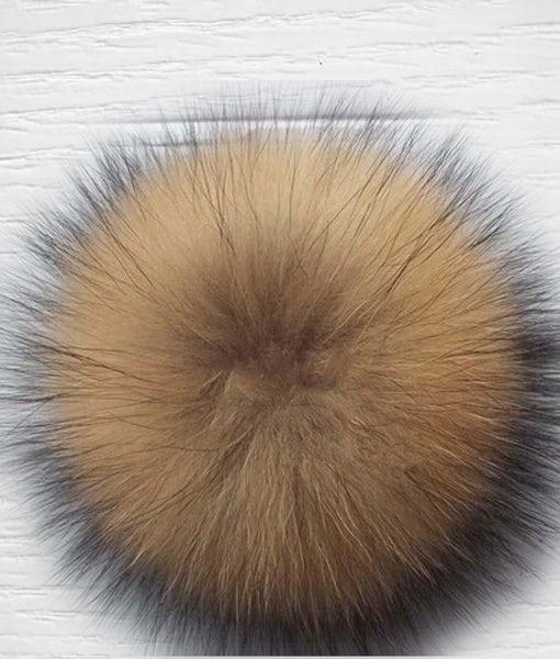 Pompon fourrure lapin LIDIA CROCHET TRICOT