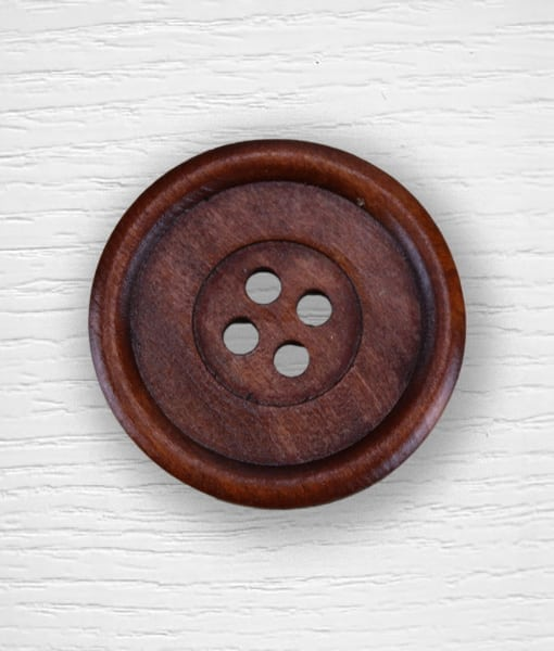 Wood buttons 50 mm dark color Lidia Crochet Tricot
