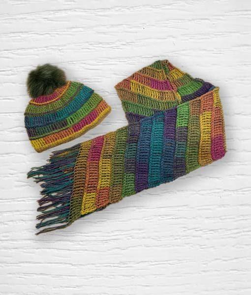 Laine Kameleon ouvrage Lidia Crochet Tricot 10