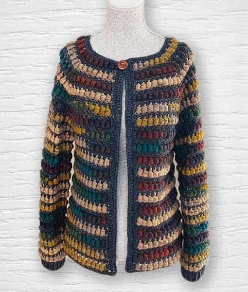 Laine Kameleon ouvrage Lidia Crochet Tricot 11