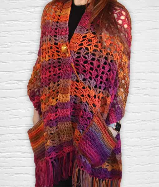 Laine Kameleon ouvrage Lidia Crochet Tricot 14