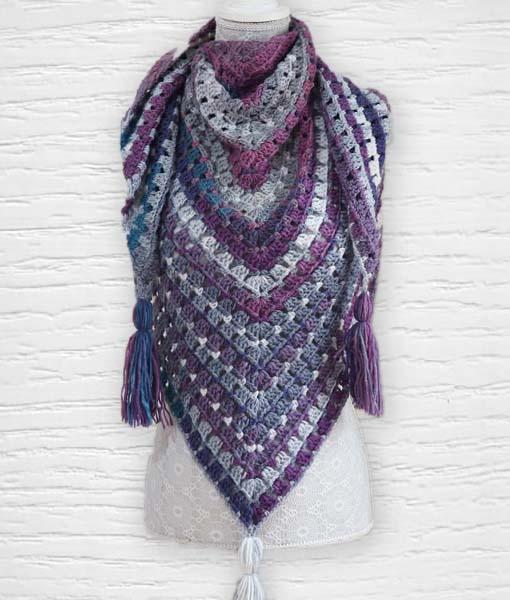 Laine Kameleon ouvrage Lidia Crochet Tricot 15
