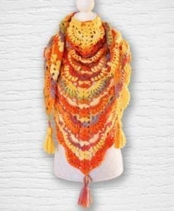 Laine Kameleon ouvrage Lidia Crochet Tricot 3