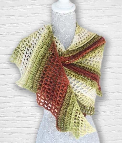 Laine Kameleon ouvrage Lidia Crochet Tricot 4