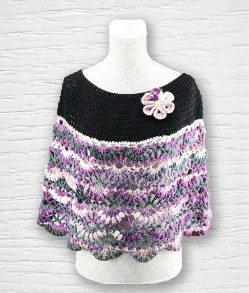 Laine Kameleon ouvrage Lidia Crochet Tricot 5