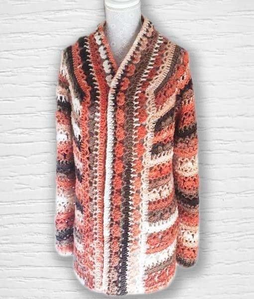 Laine Kameleon ouvrage Lidia Crochet Tricot 6