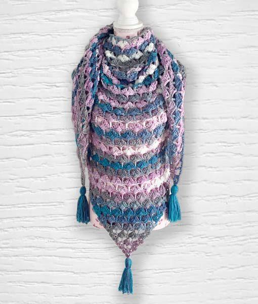 Laine Kameleon ouvrage Lidia Crochet Tricot 9