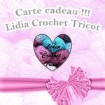 Carte cadeau Lidia Crochet Tricot