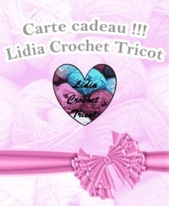 Gift card Lidia Crochet Tricot