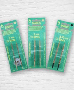 PONY interchangeable circular bamboo needles