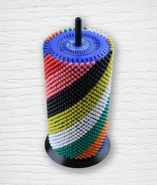 PONY pearlised head pins Lidia Crochet Tricot