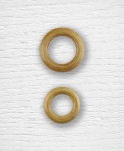 Wooden rings Lidia Crochet Tricot