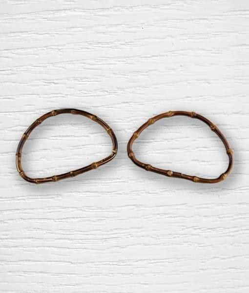 Anse de sac bambou ovale Lidia Crochet Tricot 2