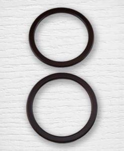 Anses de sac bois cercle 1 Lidia Crochet Tricot