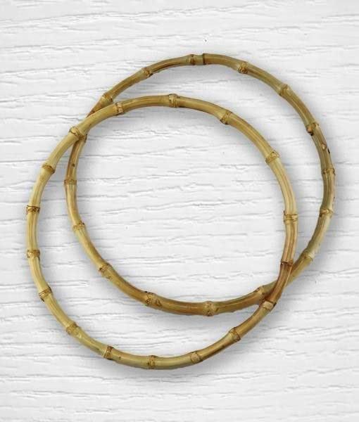 Anses de sac cercles bambou 1 Lidia Crochet Tricot