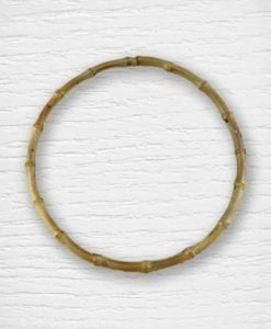 Bamboo circle bag handles Lidia Crochet Tricot
