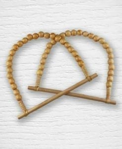 Wooden pearl bag handles Lidia Crochet Tricot