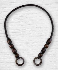 Anses de sac simili cuir bois 1 Lidia Crochet Tricot