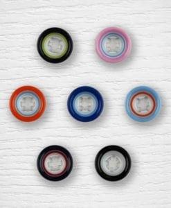 Multicolor buttons Lidia Crochet Tricot