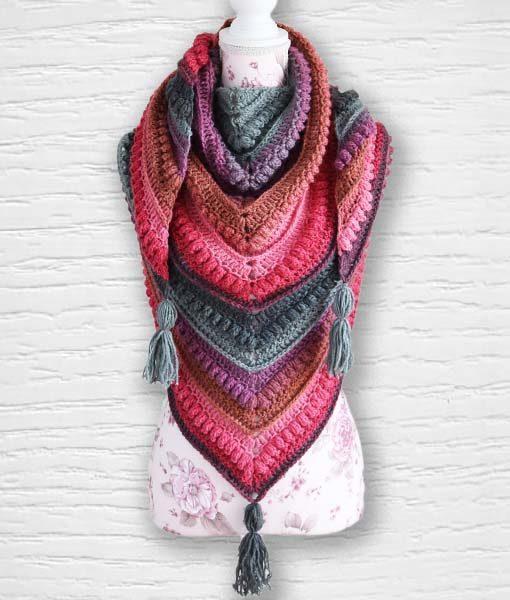 Laine fantaisie Lollipop ouvrage 3 Lidia Crochet Tricot