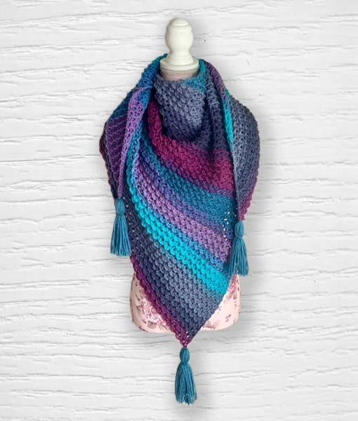 Laine fantaisie Lollipop ouvrage 5 Lidia Crochet Tricot