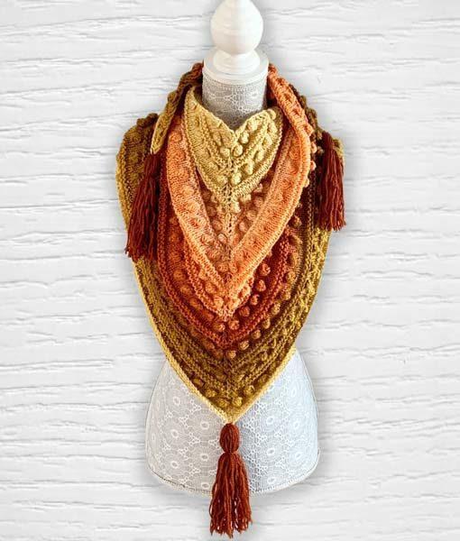 Laine fantaisie Lollipop ouvrage 7 Lidia Crochet Tricot