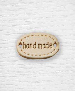 Handmade wood buttons Lidia Crochet Tricot