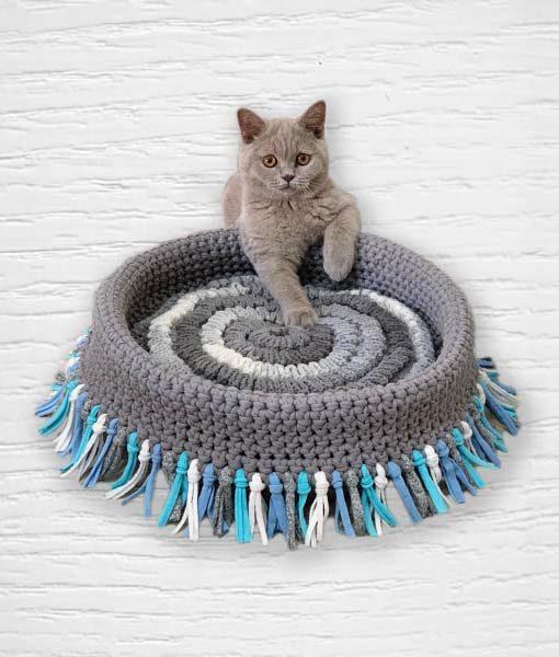 Modèle 14 TrapiXL trapilho Lidia Crochet Tricot