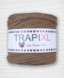 TrapiXL Crème-Marron 5 Lidia Crochet Tricot