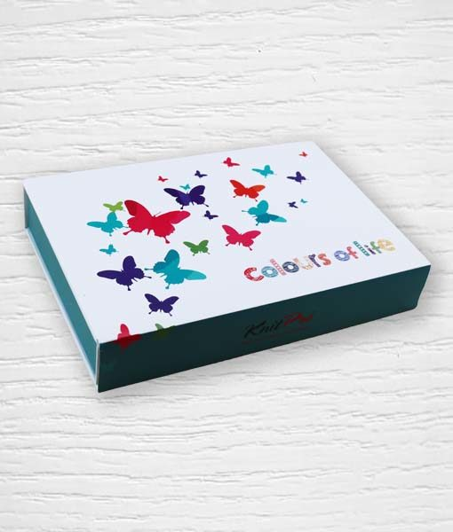 Coffret aiguilles circulaires interchangeables KnitPro Colours of Life 1 Lidia Crochet Tricot