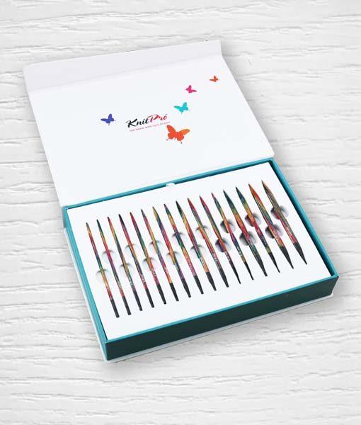 Coffret aiguilles circulaires interchangeables KnitPro Colours of Life 2 Lidia Crochet Tricot