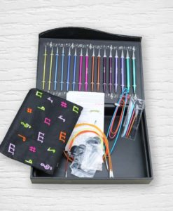 KnitPro Zing Melodies of Life interchangeable knitting needle gift set Lidia Crochet Tricot