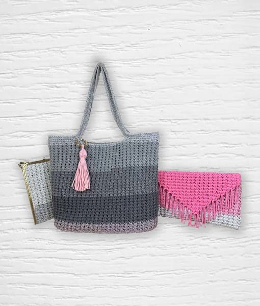 Candy Corde Lidia Crochet Tricot Ouvrage 1