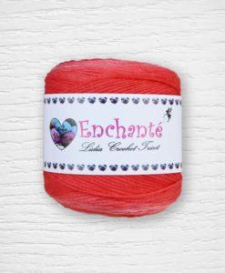 Enchanté coton Lidia Crochet Tricot 083 Rouge