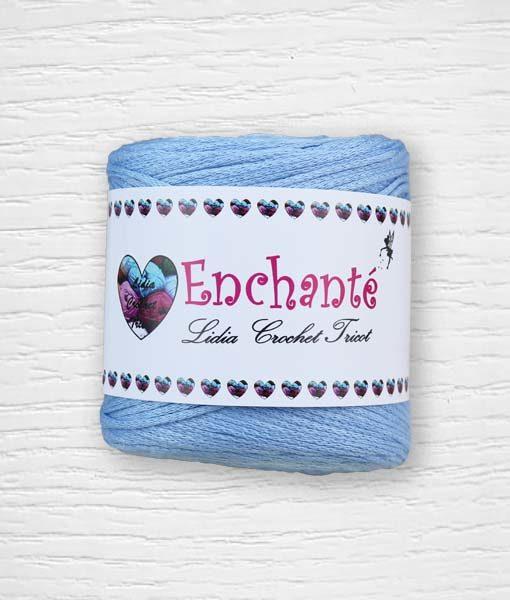 Enchanté coton Lidia Crochet Tricot 174 Bleu
