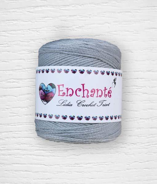Enchanté coton Lidia Crochet Tricot 221 Gris