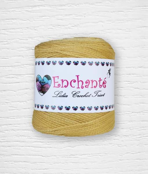 Enchanté coton Lidia Crochet Tricot 298 Moutarde