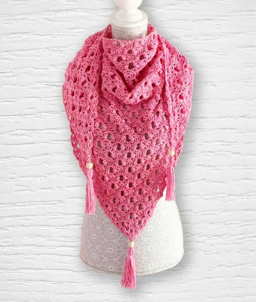 Enchanté coton ouvrage Lidia Crochet Tricot 6