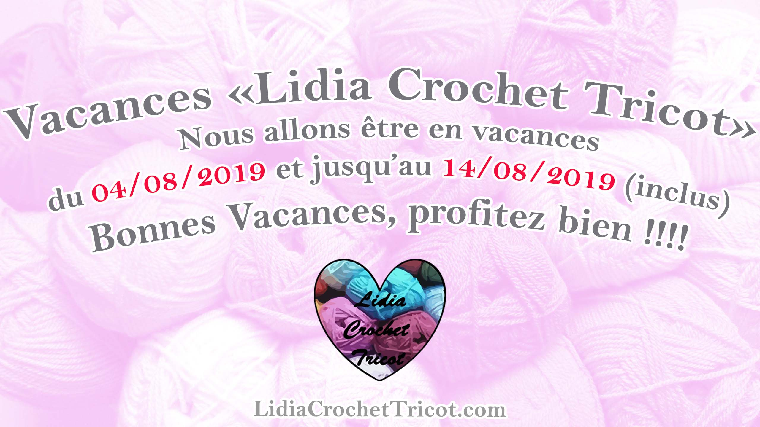 Vacances 2019 été Lidia Crochet Tricot Lidia Crochet Tricot