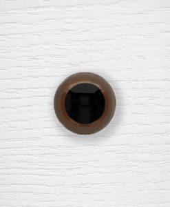 Yeux sécurisés amigurumi couleur Lidia Crochet Tricot 28 mm Marron
