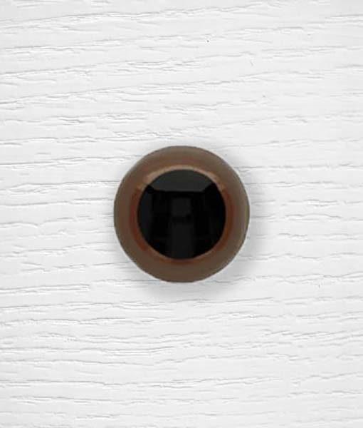 Yeux sécurisés amigurumi couleur Lidia Crochet Tricot 30 mm Marron
