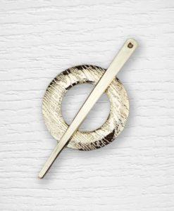 Épingle à châle doré Lidia Crochet Tricot