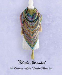 Châle Istanbul (tutoriel Lidia Crochet Tricot)