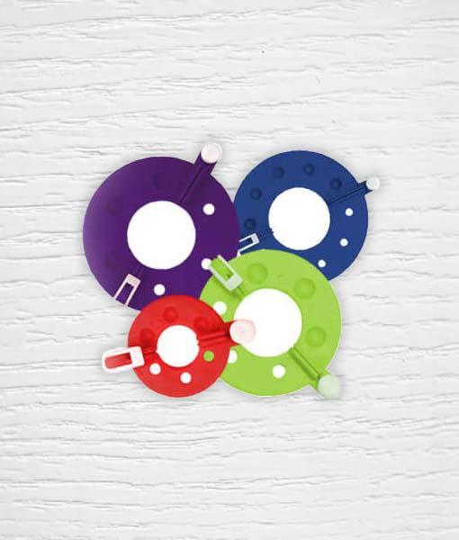 Kit pour faire des Pompons KnitPro 3.5 - 9 cm